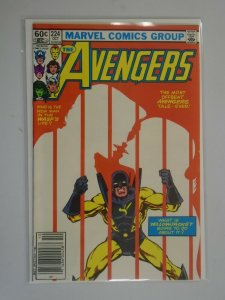 Avengers #224 Newsstand edition 6.0 FN (1982 1st Series)