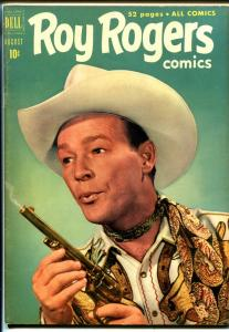 Roy Rogers #44 1951-Dell-photo cover-VF Minus