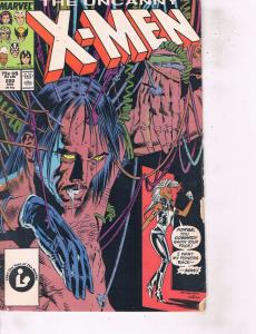 Lot Of 2 Marvel Comic Book Uncanny X-Men #220 and Professor Xavier X-Men #9 ON14