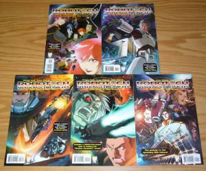 Robotech: Prelude to the Shadow Chronicles #1-5 VF/NM complete series UDON 2 3 4