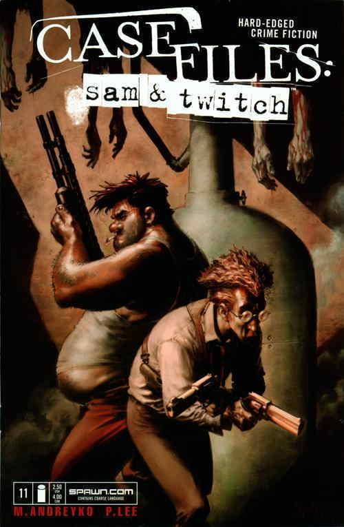 Case Files: Sam and Twitch #11 VF/NM; Image | save on shipping - details inside