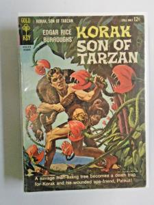 Korak Son of Tarzan comic lot 13 different books average 6.0 FN (1964)