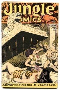 Jungle Comics #86 1947-Kaanga- bondage cover- G