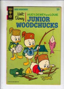 Huey Dewey and Louie Junior Woodchuks #1 (Aug-66) VG/FN+ Mid-Grade Huey Dewey...