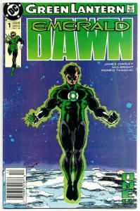 Green Lantern Emerald Dawn #1 (DC, 1989) GD/VG
