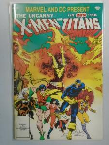 X-Men and the Teen Titans #1 (1982 1st print) 6.5/FN+