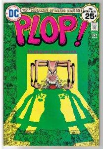 PLOP! #9, FN/VF, Sergio Aragones, Basil Wolverton, 1973, more SA in store