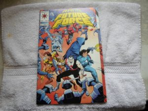1993 VALIANT COMICS RAI AND THE FUTURE FORCE # 9 ( 4 )