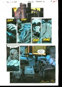 Original D.C. Color Guide Shadow Of The Bat #35 Pg 8