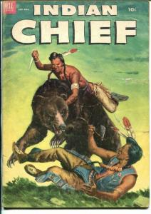 Indian Chief #9 1952-Dell-excellent Indian imagery-G-