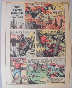 Lone Ranger Sunday Page by Fran Striker and Charles Flanders from 5/30/1943