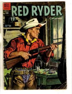 Red Ryder Comics # 139 VG- Dell Golden Age Comic Book Western Cowboy Harman JL11