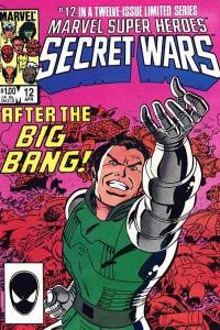 Marvel Super-Heroes Secret Wars #12, VF+ (Stock photo)