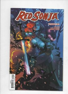 RED SONJA #23 B, VF+, She-Devil, Vol 4, Williams, 2018, more RS in store