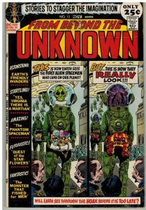 FROM BEYOND THE UNKNOWN 13 VG Nov. 1971