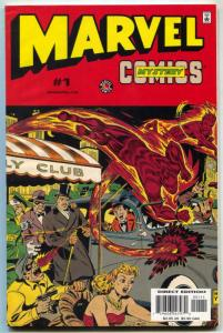 Marvel Mystery Comics #1 -1999 HUMAN TORCH VISION Golden Age Reprints