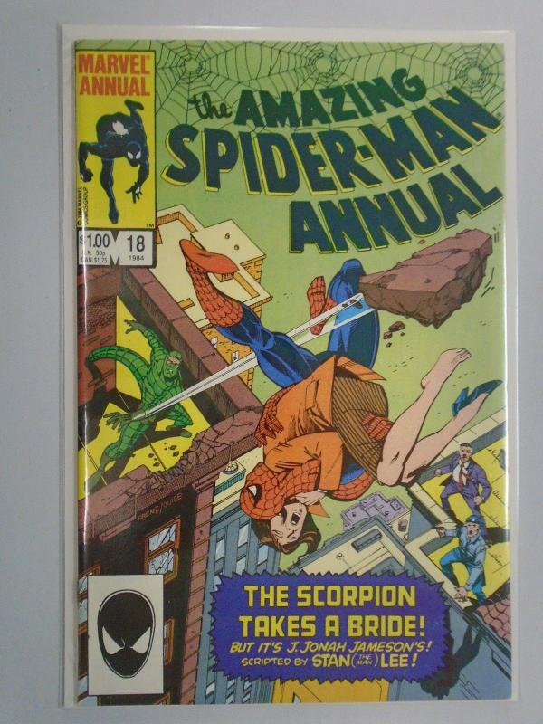 Amazing Spider-Man (1st Series) Annual #8, 8.0/VF (1984)