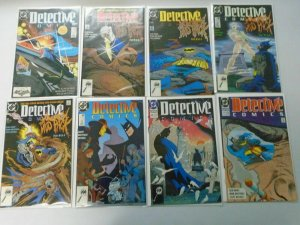 Detective Comics lot 28 different from #601-646 8.0 VF (1989-92)
