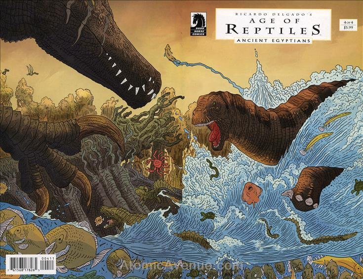 Age Of Reptiles: Ancient Egyptians #4 VF/NM Dark Horse - save on shipping - deta