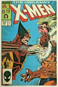 UNCANNY X-MEN#222 FN 1987 MARVEL COMICS