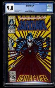 Darkhawk #25 CGC NM/M 9.8 White Pages