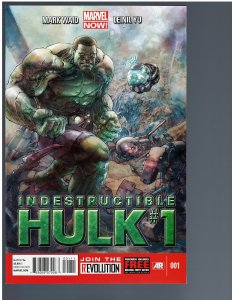 Indestructible Hulk #1 (2012)