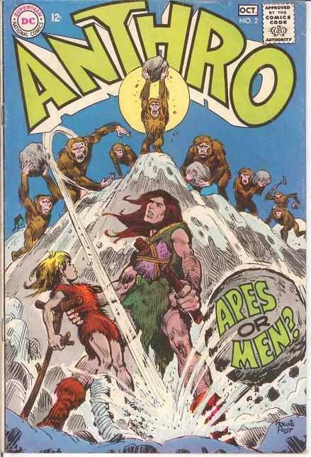 ANTHRO (1968) 2 F-  Sep.-Oct. 1968 COMICS BOOK