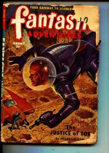 Fantastic Adventures-Pulp-1/1951-Franklin Bahl-Gilbert Grant