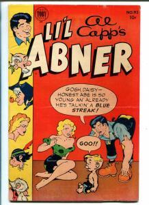LIL ABNER #93 1954-HARVEY-DAISY MAE-AL CAPP-vg