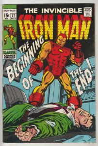Iron Man #17 (Sep-68) NM- High-Grade Iron Man