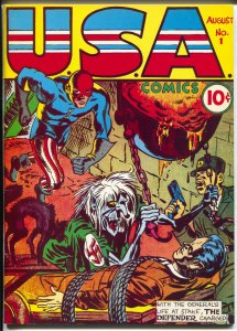 Flashback #3 1970's-Reprints USA Comics #1 from 1941-NM