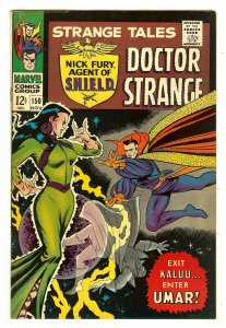 Strange Tales 150   John Buscema's 1st work at Marvel