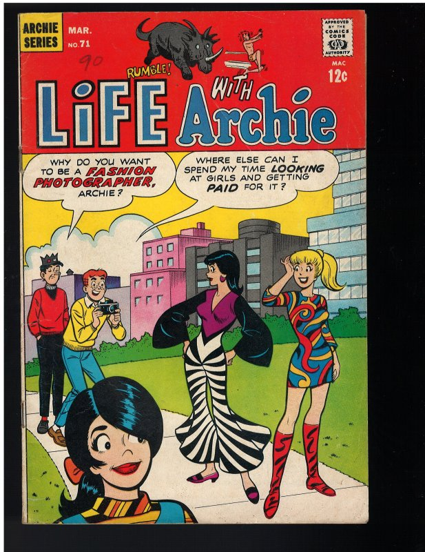 Life With Archie #71 (1968)