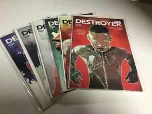 Destroyer 1-6 Nm Near Mint Victor LaValle Boom Studios