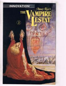 Lot Of 2 Anne Rice's The Vampire Lestat Innovation Comic Books # 2 & 12 J95