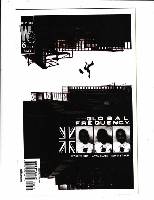 GLOBAL FREQUENCY#6  FN/VF   WILDSTORM COMICS Save on shipping