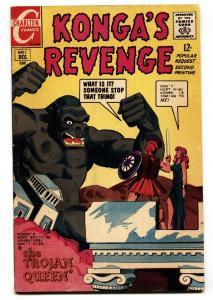 Konga's Revenge #1 1968- Charlton Comics FN