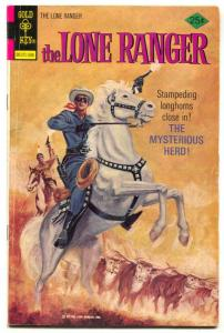 The Lone Ranger #21 1975- Gold Key comic VG/FN