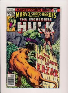 Marvel Super-Heroes ft.THE INCREDIBLE HULK #63  FINE (SRU533)