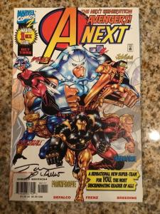 Marvel A Next 1 * Hope Pym * Signed By Tom DeFalco
