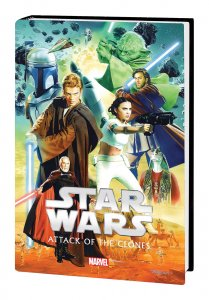 Star Wars Episode II Attack Of The Clones HC (Marvel, 2016) - New/Sealed!