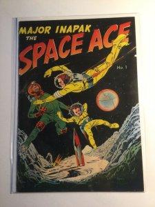 Major Inpak The Space Ace 1 Fine fn 6.0 Magazine Enterprises