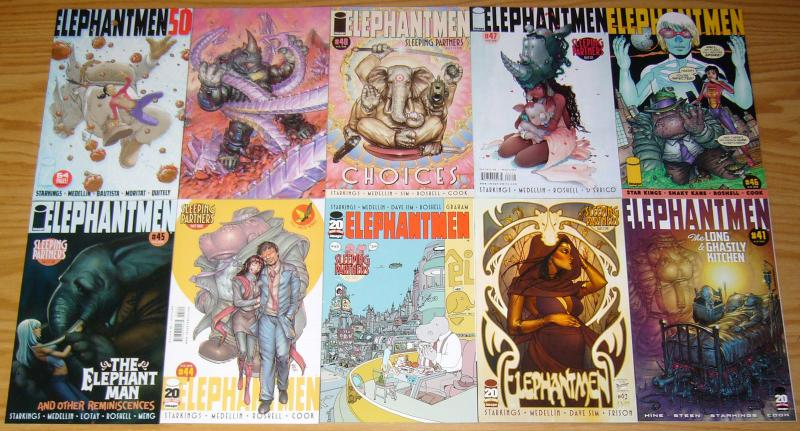Elephantmen #1-80 VF/NM complete series + (5) more  j. scott campbell/ladronn 18