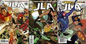 JLA #120-122 (1997-2006) DC Comics - 3 Comics