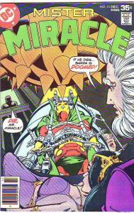 Mister Miracle #21 (Dec-77) NM- High-Grade Scott Free (Mister Miracle), Big B...