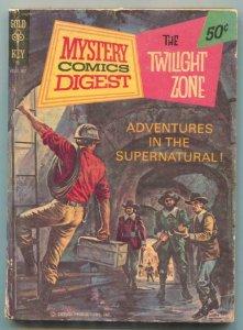 Mystery Comics Digest #12 1973- Twilight Zone- Gold Key