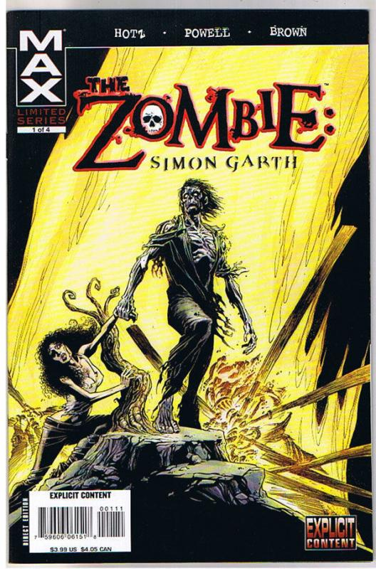 ZOMBIE : Simon Garth #1, NM+, Undead, Walking Dead, 2008, more Zombies in store