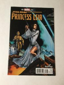Princess Leia 1 Hastings Variant Nm Near Mint Star Wars