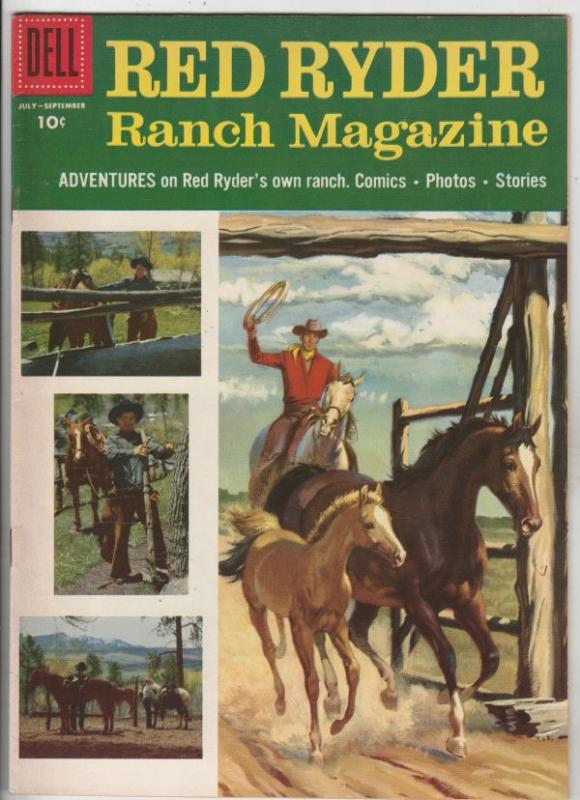 Red Ryder Ranch Magazine #148 (Jul-55) VF/NM High-Grade Red Ryder