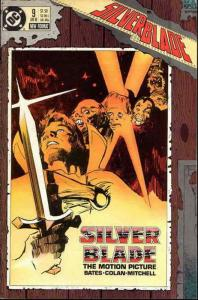 Silverblade #9 VF/NM; DC | save on shipping - details inside